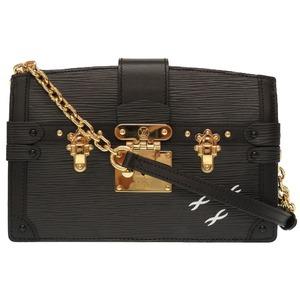 Louis Vuitton Epi Trunk Clutch 2018 Fall Winter Pre-Collection Black M53052 Shoulder Bag LV 0190 LOUIS VUITTON