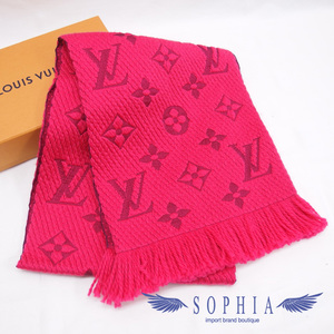 Louis Vuitton Eyepu, Logomania muffler pink 20190220