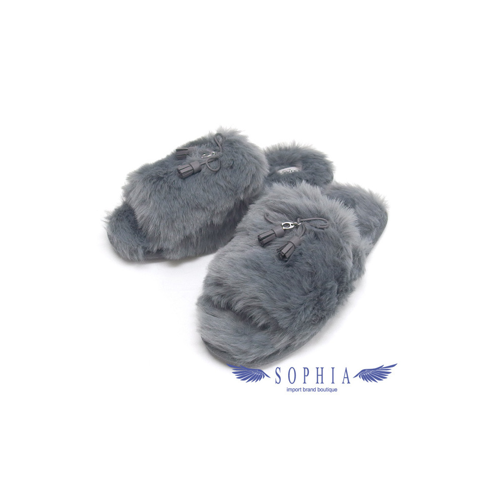 Coach Zoe Slippers Sandals Gray 23 cm 20190212