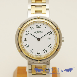 Hermes Clipper SSxGP combination white dial 20190220