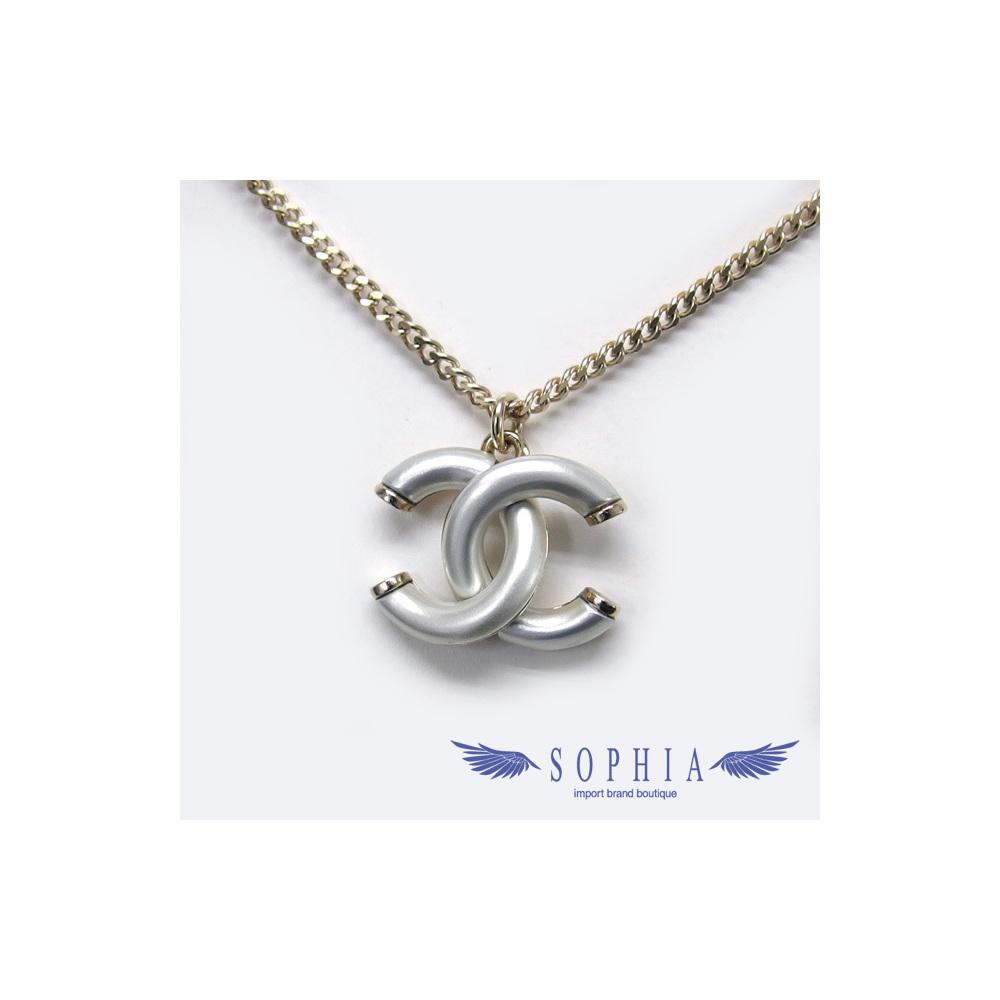 Chanel Necklace Coco Mark A17P 20190203