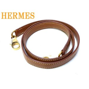 Hermes Kelly shoulder strap Kushubel 0146 HERMES gold