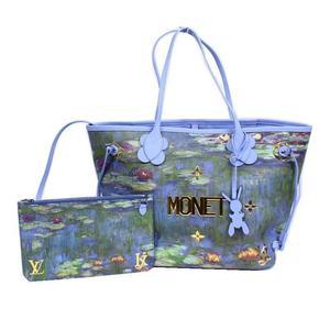 Louis Vuitton LV Never full MM Masters Collection M43331 Monet Tote Bag LOUIS VUITTON