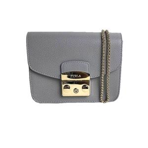 Furla FURLA Metropolis Mini Cross Body 903822 ARGILLA c Gray Shoulder Bag Women's
