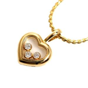 Chopard Happy Diamond Icon Pendant 794611-0001 K18YG Heart Ladies Necklace Jewelry Finished