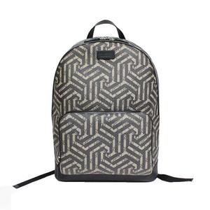 Gucci GUCCI GG Kaleido backpack 406370 PCV / leather beige × ebony black