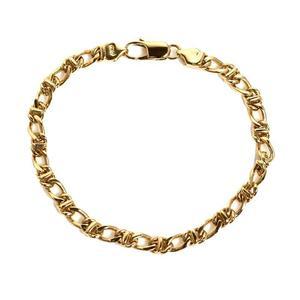 Tiffany & CO Chain Bracelet K18YG Women's Jewelry Finished