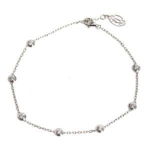Cartier Dierman Leger Bracelet K18WG Diamond Ladies Jewelry Finished