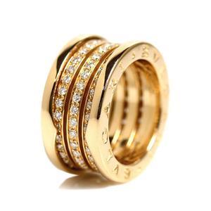 Bvlgari BVLGARI B. ZERO 1 ring K18YG diamond bee zero one women's jewelry finished