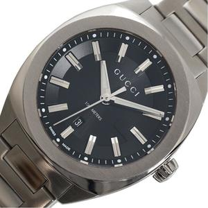 Gucci GUCCI GG 2570 YA142401 Quartz Black Ladies Men's Wrist Watch