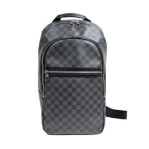 Louis Vuitton LV Damier Graphite Mikael N58024 Backpack Men's LOUIS VUITTON