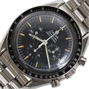 Omega OMEGA Speedmaster Professional Hand-rolled chronograph Black men's watch finished