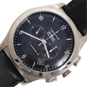 Zenith ZENITH Grand Class El Primero 65.0520.4002 Automatic winding WG Solid Chronograph Black Men's Watch