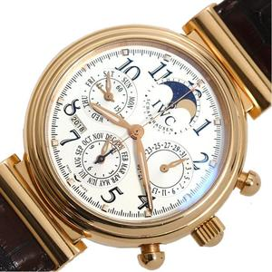 IWC Da Vinci Perpetual Calendar Chronograph IW3758 Automatic winding PG inexperienced men's watch