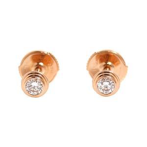 Cartier Dierman legged earrings B8301406 K18PG diamonds ladies jewelry finished