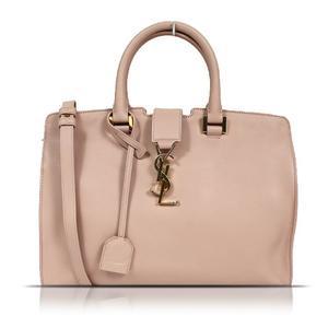 Saint Laurent SAINT LAURENT Monogram Cabass 394461 Calf Pink Shoulder Bag