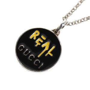 Gucci GUCCI ghost pendant 459359 J89L0 8490 SV925 ladies men's necklace jewelry finished