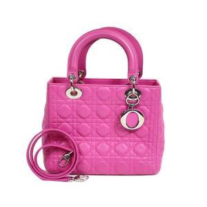 Christian Dior Dior Christian Kanage CAL 44551 Lambskin pink handbag