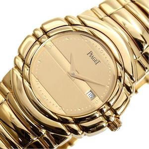 Piaget PIAGET Tanagra 17041 M 401 D Quartz gold plain champagne men's watch finished