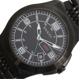 Gucci GUCCI G Timeless YA126202 PVD Quartz Black Mens Watch