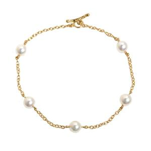 Tiffany TIFFANY & CO Elsa Peretti pearl bracelet K18YG ladies jewelry finished
