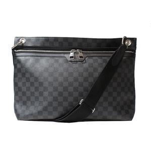 Louis Vuitton Damier Grafitt Hunter N41656 Shoulder Bag Mens LOUISVUITTON dcf9611cef129