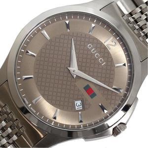 Gucci GUCCI G Timeless YA126310 Quartz Brown Mens Watch Wrist