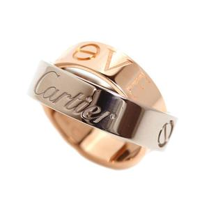 Cartier secret love ring K18WG K18PG ladies jewelry finished