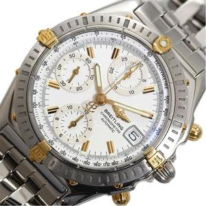 Breitling BREITLING Chrono mat Bikoro B13352 Automatic winding white men's watch finished