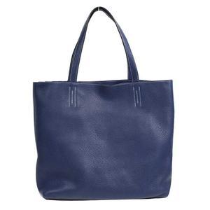 Hermes HERMES Dubble Sense 45 Triill Clemence T Blue Saphir Tote Bag