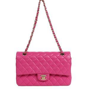 Chanel CHANEL Matrasse 25 A01112 Lambskin Fuchsia gold hardware shoulder bag