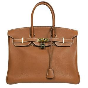 HERMES Birkin 35 Togo gold hardware □ H engraved ladies
