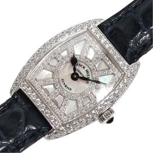 FRANCK MULLER SUNRISE TONER CARBEX 2252 QZSNRDCD Quartz WG Solid Diamond Ladies Watch