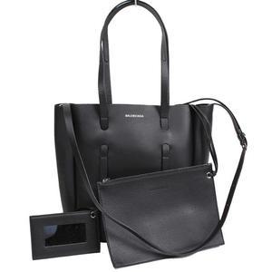 Balenciaga BALENCIAGA Everyday XS Tote Bag 489813 Calfskin Noir