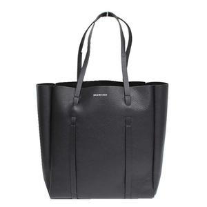 Balenciaga BALENCIAGA Everyday S 475199 Calfskin Black Tote Bag Women's