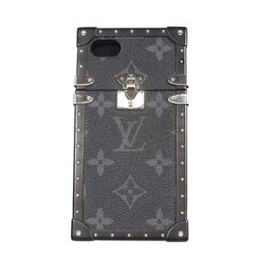 Louis Vuitton eye trunk iphone 7 M64489 Monogram · Eclipse smart case LOUIS VUITTON