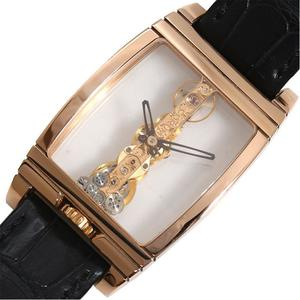 Corum CORUM Golden Bridge 113.550.55 Hand winding PG Solid skeleton men's watch finished