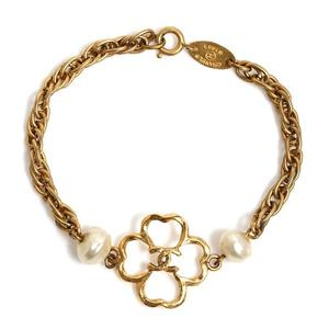 Chanel CHANEL Clover Bracelet Women's Accessories Jewelry