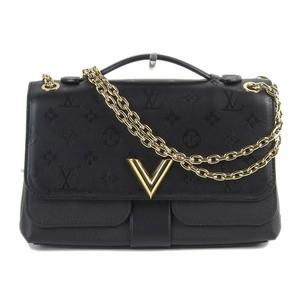 Genuine article LOUIS VUITTON Louis Vuitton Velie chain bag Noir No .  M42899  leather d3754ac4b6cdc
