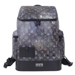 Real LOUIS VUITTON Louis Vuitton Monogram Galaxy Alpha Bag Pack Backpack Model: M44174 Leather