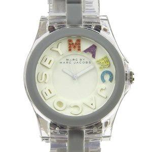 Genuine MARC BY JACOBS Makubai Mark Jacobs Women's Quartz Wrist Watch Gray MBM 4548