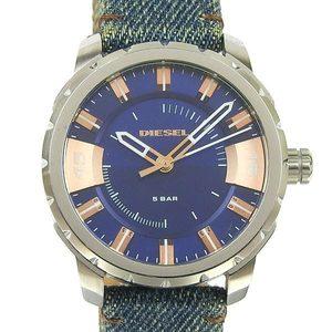 Genuine DIESEL Diesel Mens Quartz Watch Blue Denim DZ-1722