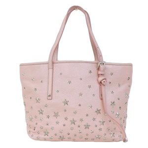 Real JIMMY CHOO Jimmy chew sashatoto S pink bag leather