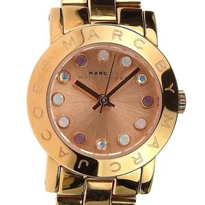 Real MARC JACOBS Marc Jacobs Small Amy Ladies Quartz Wrist Watch Model Number: MBM 3219