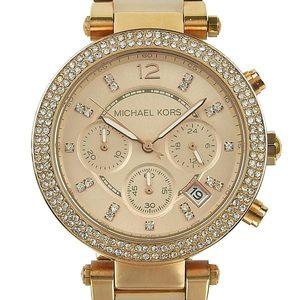 Genuine MICHAEL KORS Michael Kors Women's Chrono Quartz Watch Pavé MK-5896