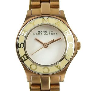 Authentic MARC BY JACOBS MARKBYMARM Mark Jacobs Women's Quartz Wrist Watch Model Number: MBM 3076