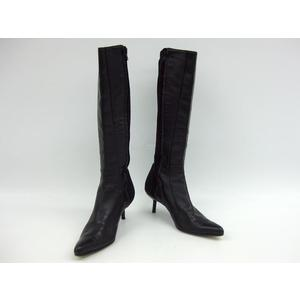 GIANFRANCO FERRE Long Boots Leather Jer Lad. 37