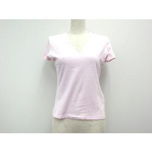グッチ コットン半袖Tシャツ ピンク レディース XS