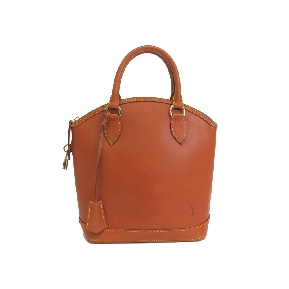 Louis Vuitton Lock It Hand bag Nomado Caramel M85388