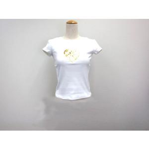 Max Mara Short Sleeves T-shirt Cotton White S Ladies